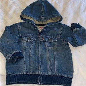 Levi Denim Baby Jacket
